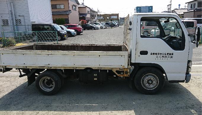2t平ボディトラック